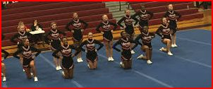 Varsity cheer takes second place in Roseville competition