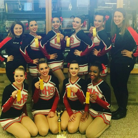 RHS Varsity dance team takes third place