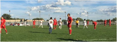 Boys' soccer team wins close game vs. Centerline