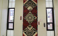 Seniors make their artistic mark in RHS hallways