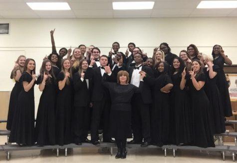 Symphonic choir earns a one at festival