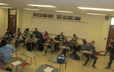 Classrooms, such as this civics class, reflect the positive aspects of RHS