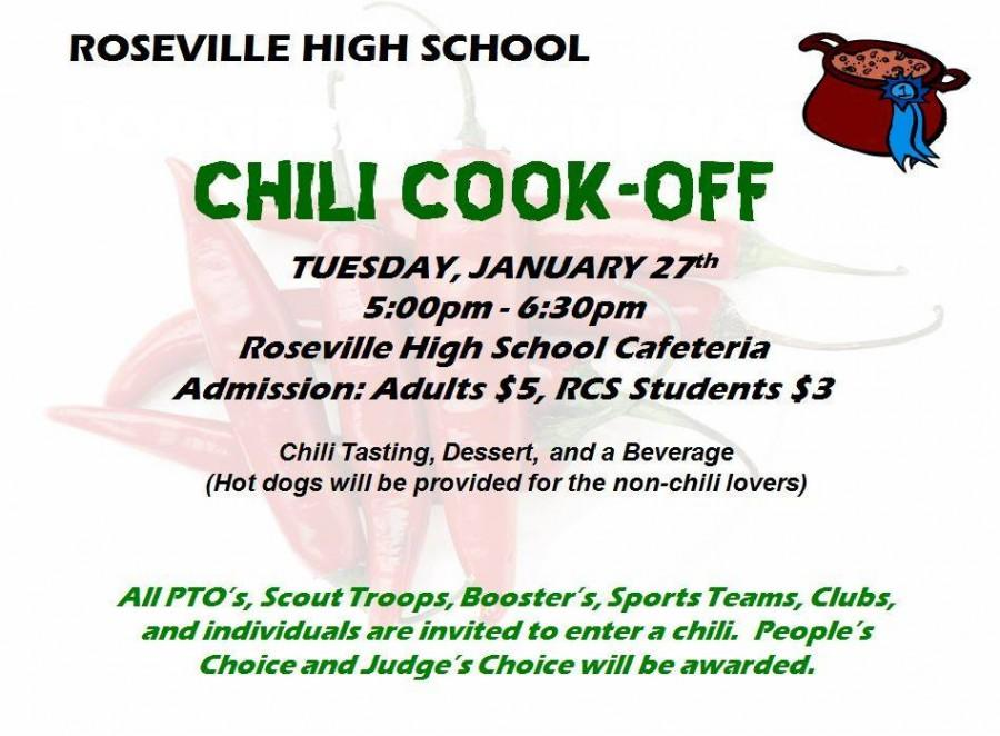 EVENT: Chili Cook-Off
