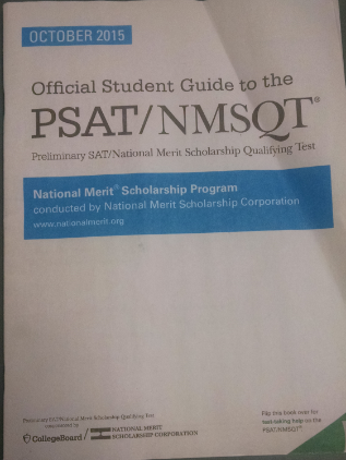 Juniors take the PSAT for the first time ever on October 14th