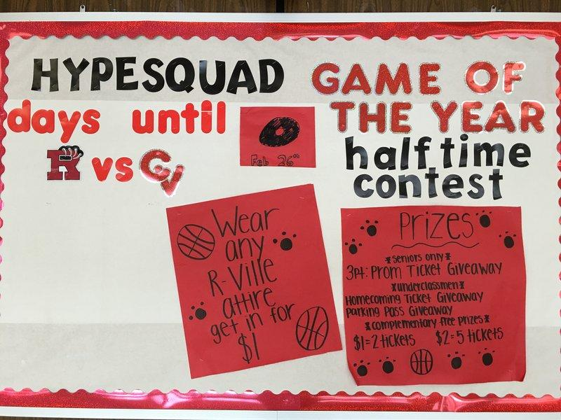 Hype squad game countdown.