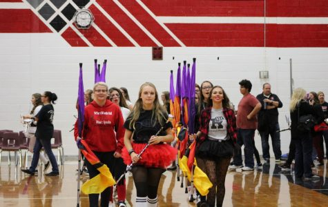 Pep assembly kicks off homecoming 2016