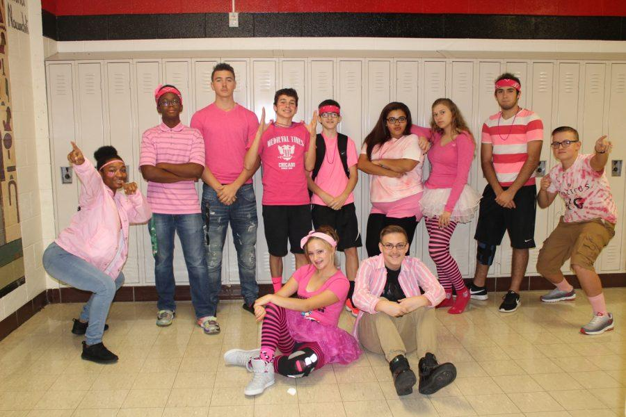 Spirit week day Four: Patrick's Pink out