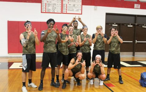 """Invisiballs"" wins the dodge ball tournament"