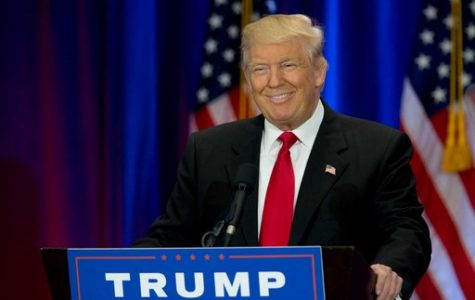 Donald Trump smiling after  winning the presidency.  PC: Google