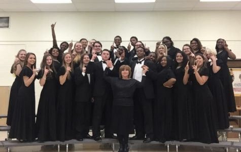 Symphonic choir earns a one at festival
