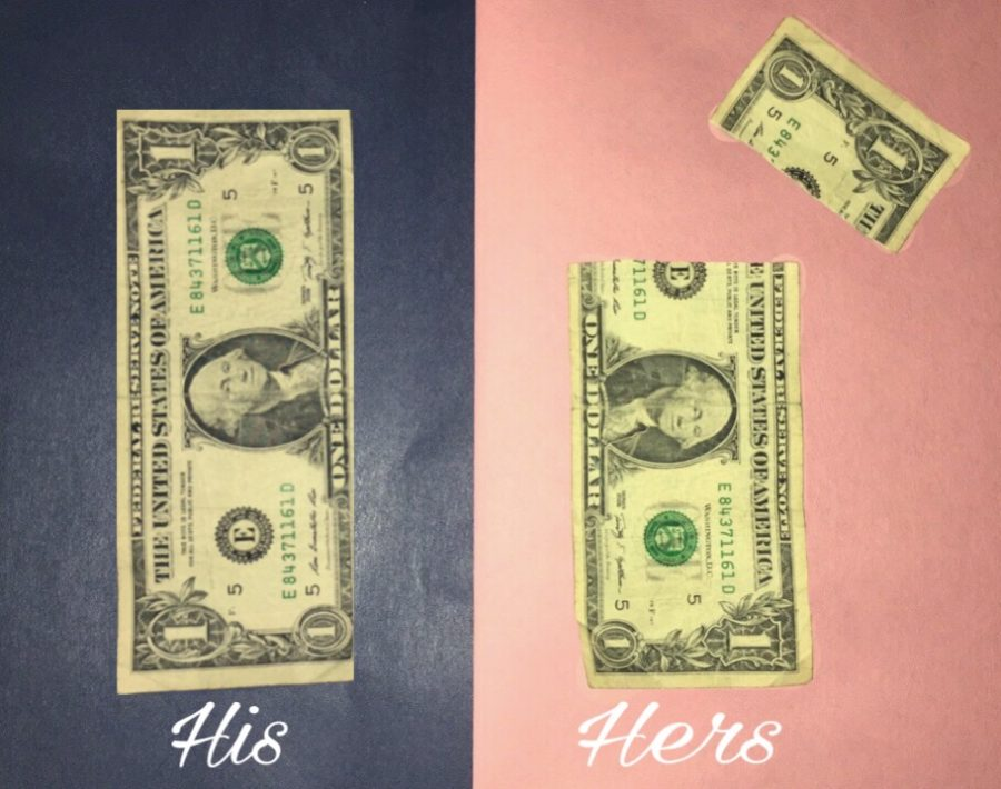 Representation+of+the+gender+wage+gap.