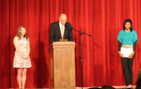 NHS holds awards night for RHS students