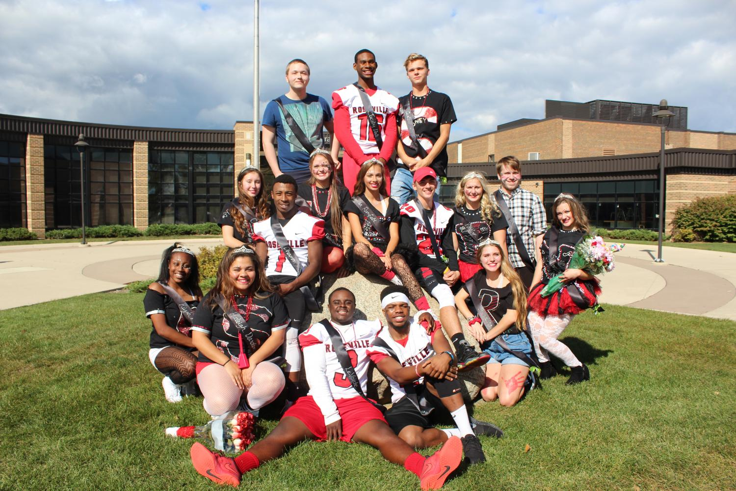RHS's 2017 homecoming court