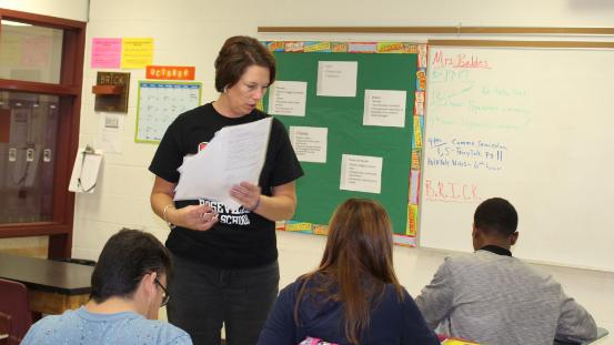 Basic English teacher, Jennifer  Baldes