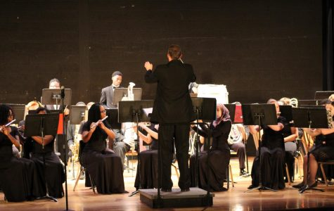 RHS bands put on first concert of the year