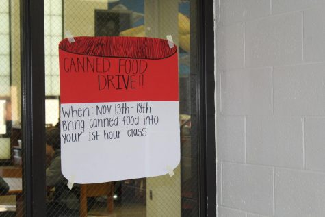 RHS holds canned food drive to help families