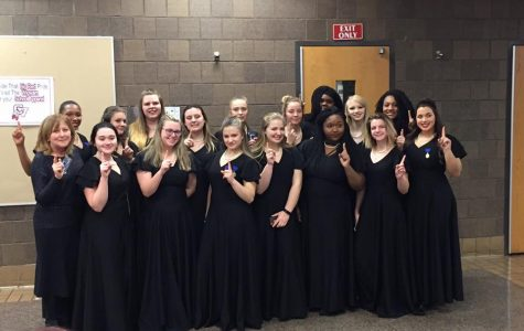 Symphonic choir earns one at solo and ensemble festival