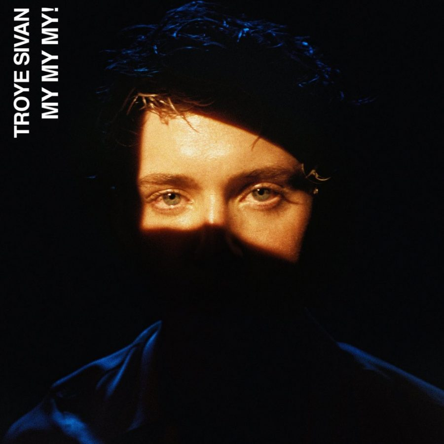 Troye+Sivan%27s+latest+single+cover+%22My+My+My.%22