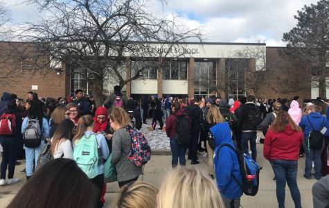 Students participate in school walkout