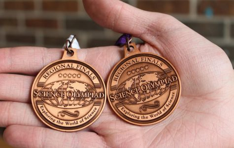 Students win five medals for Science Olympiad