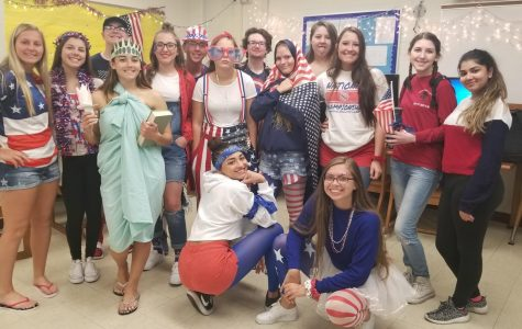 Students, staff show patriotism for USA day