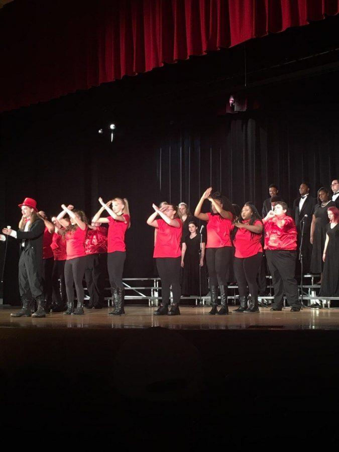Symphonic choir and symphonic Dazzle.