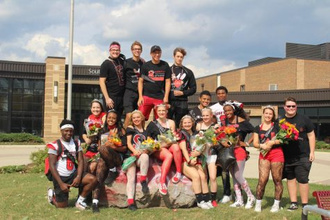 2018 Homecoming Court Living in Wonderland