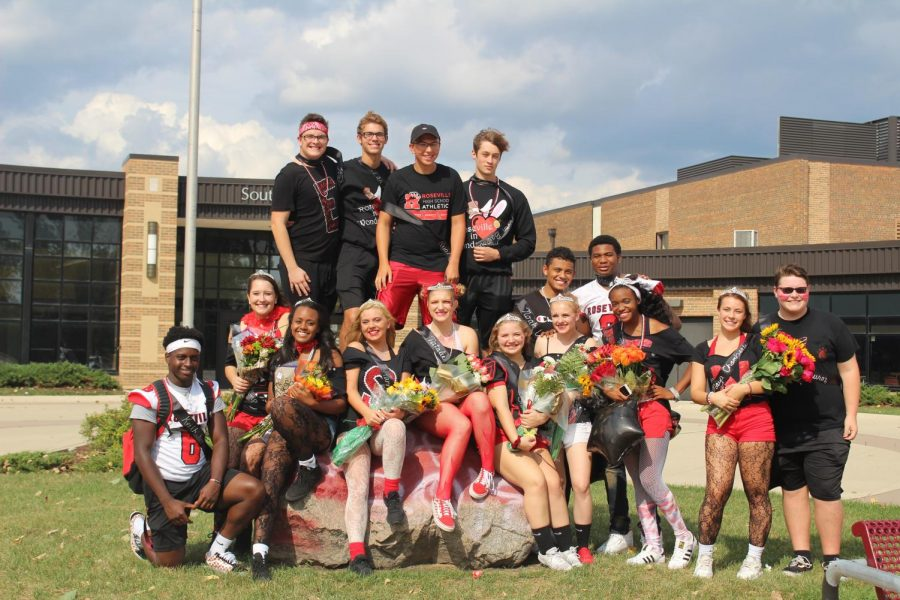 Your 2018 homecoming court