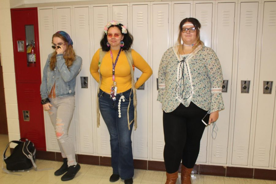 Juniors participate in spirit week.