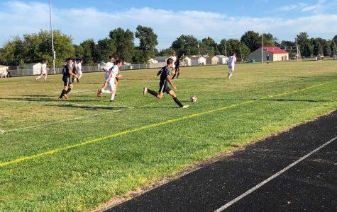 Roseville soccer works hard during their season