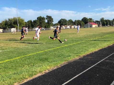 Roseville soccer works hard during their season