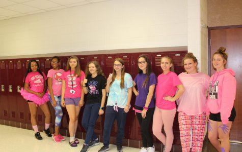 Spirit Week Day 4: Pink and Purple