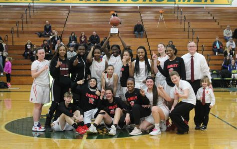 Girls basketball wins MAC Silver/Bronze Championship