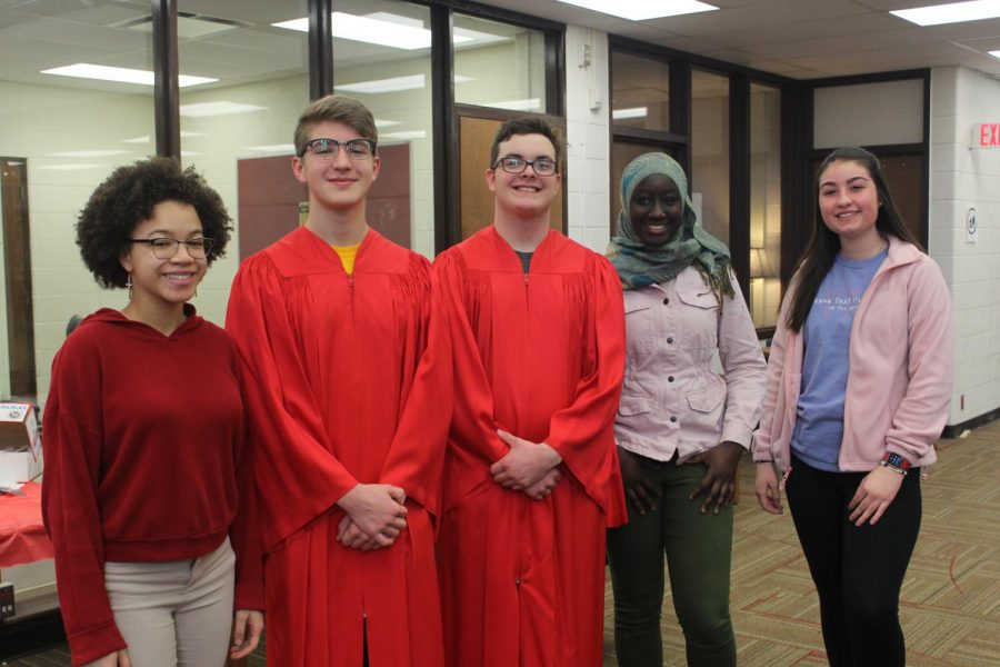 National Honor Society welcomes new inductees