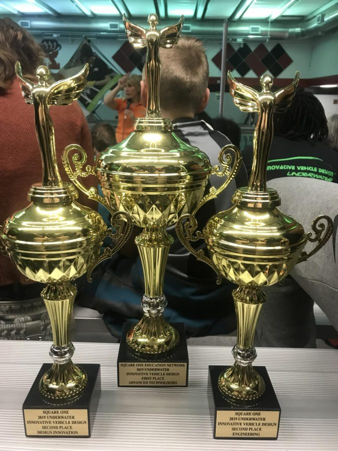 RHS competed hard in the competition, resulting in three awards.