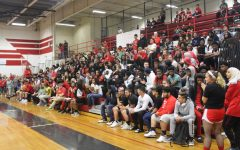 Students attend end of the year pep assembly