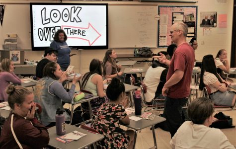Cartoonists demonstrate democracy for A.P. students