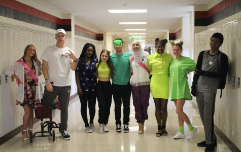 Spirit week day three: out of this world Wednesday