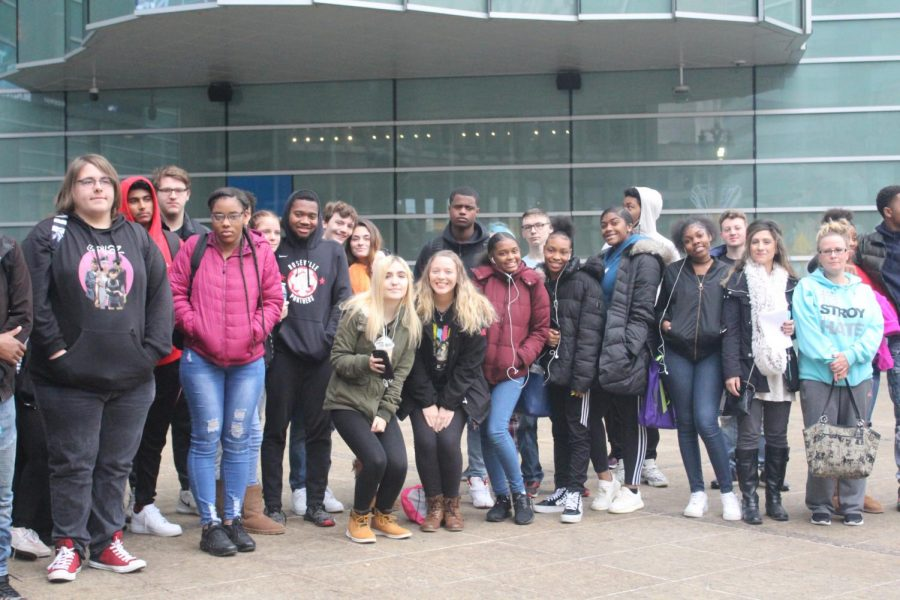 Accounting students tour downtown Detroit