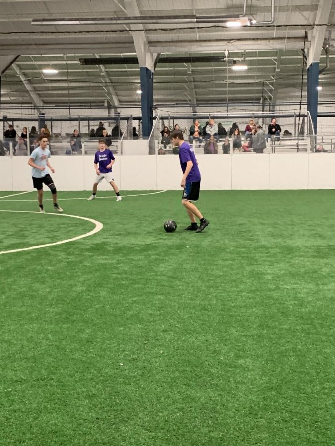 Boys soccer starts up an indoor team to get a head start for next season