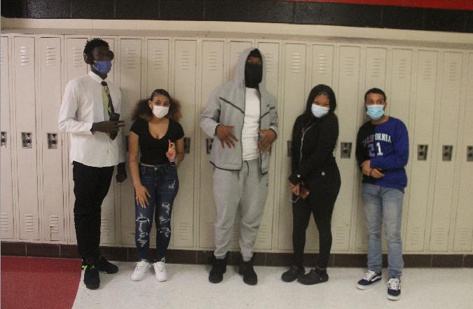 Mask up RHS